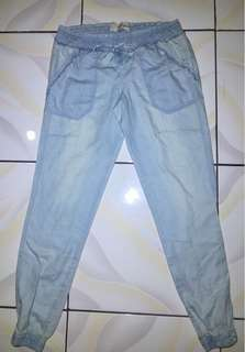 Rewind light blue soft pants