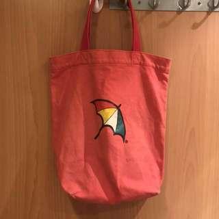 (瑕疵品)遮仔 Arnold Palmer紅色袋仔 tote bag