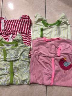 Sleepsuit 4 pcs