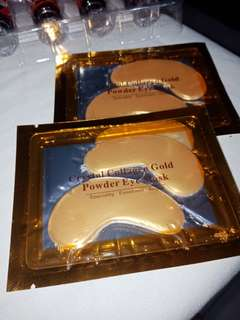 Crystal collagen gold power eye mask