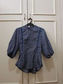 Korean-inspired blouse