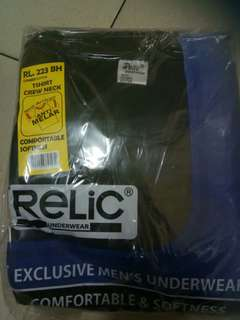 Relix oblong pria all size/ white n black