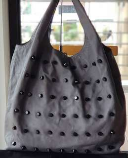 Authentic Alexander Wang Studded Slouchy Hilary Oversized Hobo