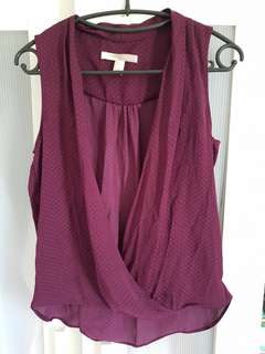 Purple Top /Outer
