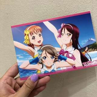Love Live Sunshine Postcard