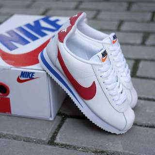 RARE ITEM !! Nike Cortez White Red