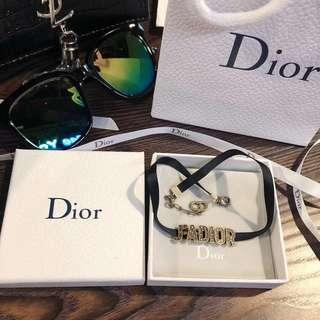 Dior 手鏈項鏈