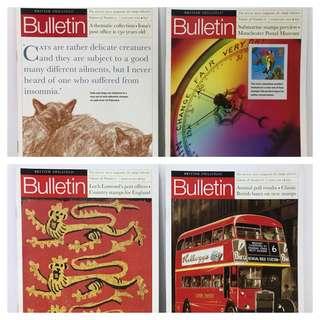 British Philatelic Bulletin 2001 (Vol. 39, 12 issues)