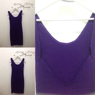 Backless body-con Dress