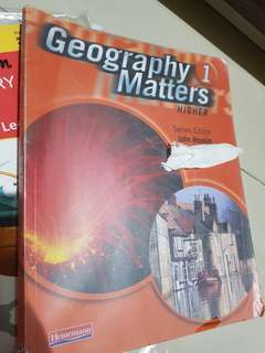 GEOGRAPHY MATTERS HIGHER 1 / 2