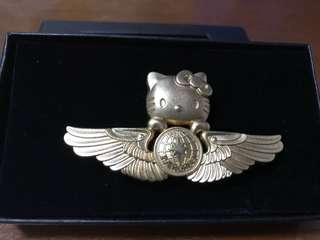 Eva Air Hello kitty wing badge
