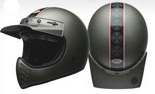 Bell Moto 3 BNIB Independant Matte Titanium (Size L)