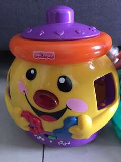 ❣️Fisher Price music pot toy