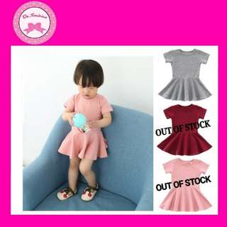 👍BEST SELLER! Instock Babies & Kids Skater Dress