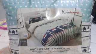 Bedcover and Sprei SET 180X200