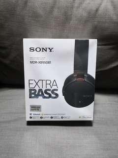 Sony Extra Bass Wireless Headphones XB950B1