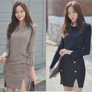 Navy Blue/Gray wear (formal)