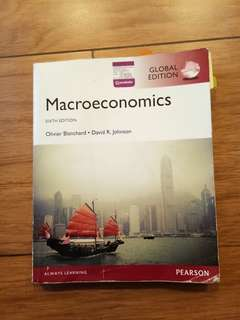 Macroeconomics  6th edition oliver blanchard,  david R. Johnson PEARSON