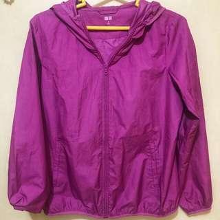 Pink Uniqlo Jacket