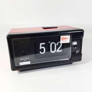NEW OLD STOCK 100v Seiko DP 690 T Flip Digital Alarm Clock (SAC_01-0718-27)