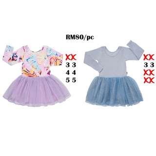 Bonds Kids Tutu Dress Size 3 4 5