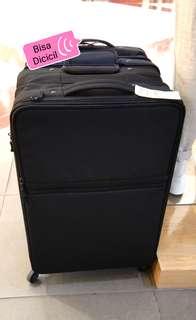 Muji Soft Carry Suitcase L Black Kredit Tanpa CC