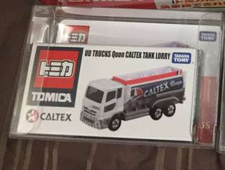 Tomica Caltex 油車