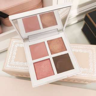 Banila co eyecrush eyeshadow palette • b by banila • 01 pink crush • beautiful rosegold shades • sale almost new