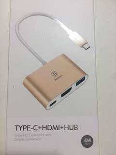 Type-C+HDMI+HUB (A127)