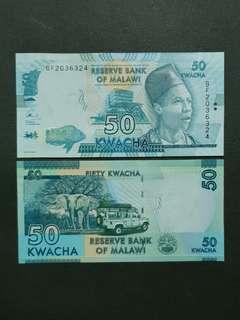 Malawi 50 Kwacha 🇲🇼 !!!