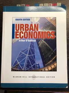 Urban economics 8th edition