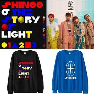 Preorder - Shinee Sweatshirt *S-3XL* exc.pos