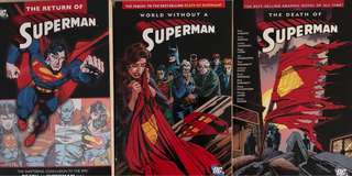 DC Comics - The Death of Superman Saga