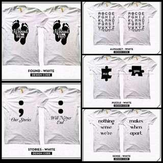 Customized Unique Couple shirt Set 2