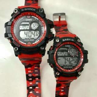 Couple G-Shock