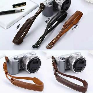 PU Leather Wrist Camera Strap (Good Quality)