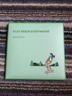 Green Eco hankie 2018