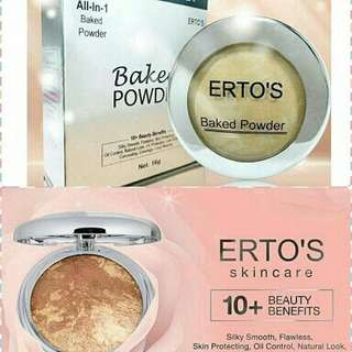 ERTOS Baked Powder all in 1 Ertos Bedak Wajah
