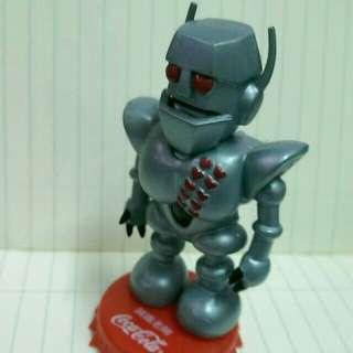 可口可樂版 小露寶銅鐵老師 8.5 cm高 hk 120 元