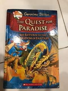 Geronimo Stilton Quest for Paradise