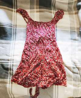 Esther Boutique Red Floral