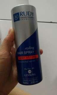 DIJUAL RUGI HAIR SPRAY SUPERSTRONG