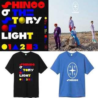 Preorder - Shinee Tshirt *S-2XL* exc.pos