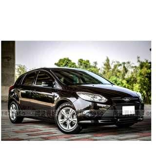 2013年-福特-FOCUS (年輕熱愛.車況優) 買車不是夢想.輕鬆低月付.歡迎加LINE.電(店)洽