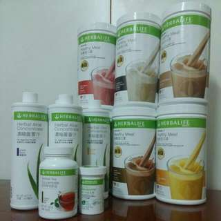 herbalife營養蛋白素/蘆薈汁