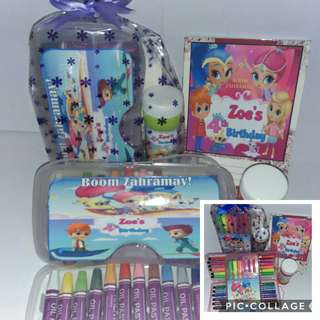 Shimmer & Shine Personalised Goodie Bags