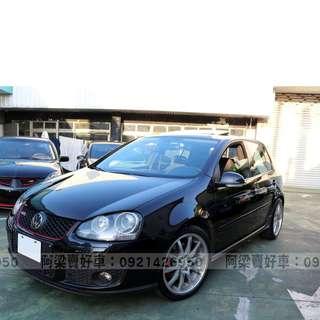 2005年-福斯-GOLF GTI (年輕熱愛.車況優.小鋼炮) 買車不是夢想.輕鬆低月付.歡迎加LINE.電(店)洽