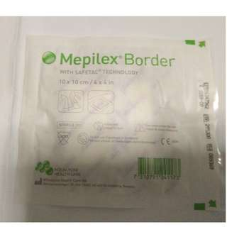 Mepilex Border 10x10cm.  Protective Dressing Material.