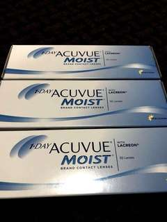 ACUVUE Moist Daily Contact Lenses -3.5