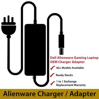 Alienware Gaming Laptop Charger Adapter